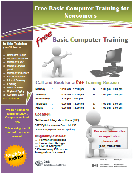 Flyer-Computer Training
