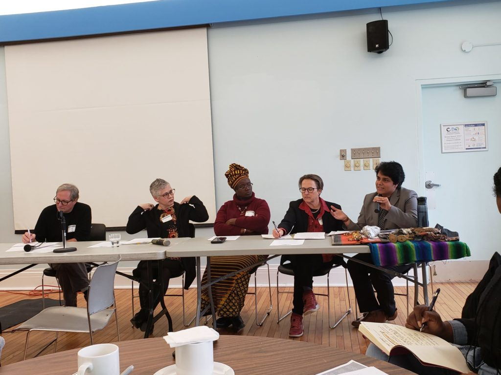 TNC Retreat Story, Panel Memebers, Jan 2020