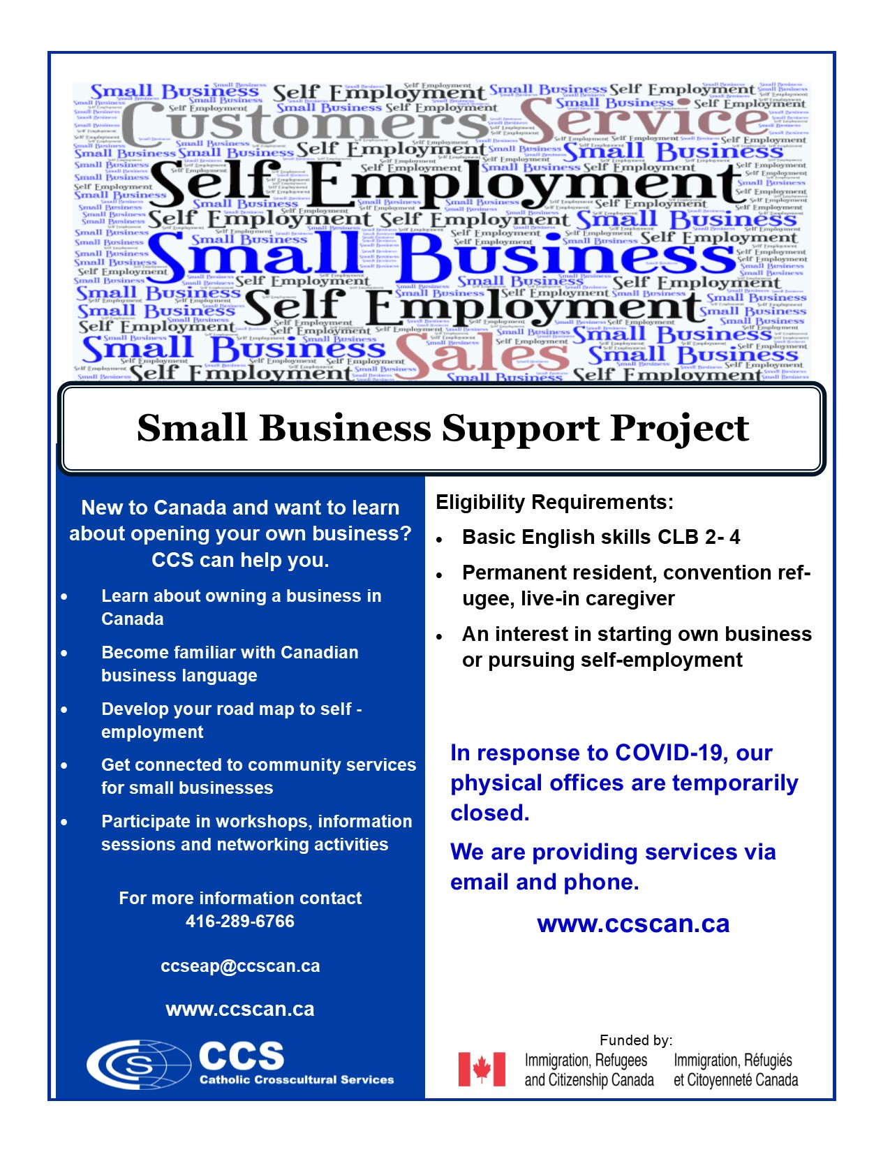 Small Business Flyer 2020 online